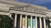administrativo : The National Archives and Records building in Washington, DC