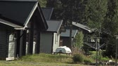 entrar : Cottages in Sweden, Circle highlands coniferous forest wild lake, tourism and outdoor recreation.