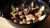 meal : Tasty Spanish dish paella