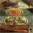 pizza restaurant : Pizza chef is making pizza.