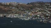 к северу : Time lapse shot of Ensanada Harbor in Mexico Стоковые видеозаписи