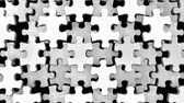 parçalar : White Jigsaw Puzzle On White Background