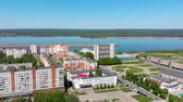City on the river, Novocheboksarsk, Russia, Chuvashia