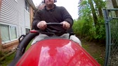 mowed : GoPro Driving the Tractor with Driver in View