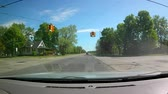 příjezdová cesta : GoPro Time Lapse Driving Through Country and Small Town Dostupné videozáznamy