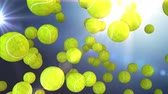 soud : tennis ball  motion background Dostupné videozáznamy