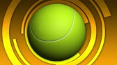 tennis ball motion background