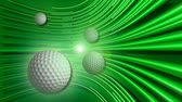 equipes : golf ball motion background