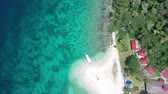 Philippine Beach Shot with drone 무비클립