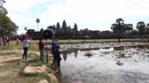 Шива : Angkor Wat is a giant Hindu temple complex in Cambodia