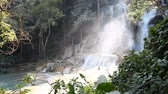 Wonderful Tad Kuang Si Waterfall in Laos Vídeos
