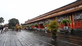 forbidden city : Vietnam. Imperial Royal Palace in Hue.The forbidden city of the emperors Stock Footage