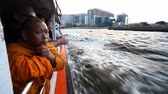 benátky : Bangkok, Thailand-January 30, 2017:Boat trip on Chao Phraya River in Bangkok.Water transport is very popular among local residents because of the overloaded traffic on the city roads