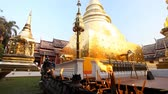 Чеди : Buddhism.Buddhist temple. Golden stupa in the temple Wat Phra Singh .Chang Mai,Northern Thailand