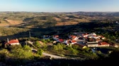 vale : View from Numao Castle. Council of Vila Nova de Foz Coa. Portugal. Douro Region.