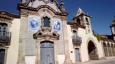 旅行の場所 : Misericórdia Chapel has a baroque façade covered with tiles. Sao Joao de Pesqueira, Douro Valley, Portugal.