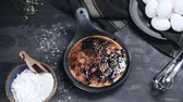 spoonful : Leite creme, portuguese desert similar to creme brulee, cream brulee and burnt cream.