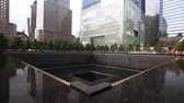 terörizm : A view of the 911 Memorial, New York