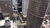 дорожный знак : Aerial view of a busy intersection in Manhattan