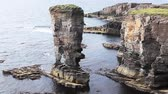 nagy britannia : The Castle of Yesnaby on the Orkney Islands