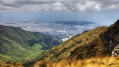 andy : A view above the City of Quito, Ecuador
