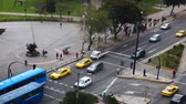 andy : Busy city traffic in Quito, Ecuador