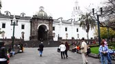 andy : Quito residents flock to the old city on Sunday