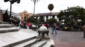 andy : Quito residents flock into the old city