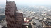 negócio : 4K UltraHD Aerial timelapse of Houston, Texas