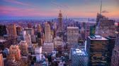 4K UltraHD Day to night timelapse in the city of New York