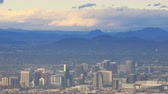 vadi : 4K UltraHD Timelapse city of Phoenix in the Valley of the Sun Stok Video