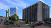 tucson : 4K UltraHD Timelapse of Central plaza in downtown Tucson, Arizona Stock Footage