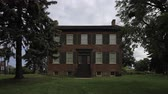 konak : 4K UltraHD Timelapse of historic Bovaird House in Brampton, Canada Stok Video