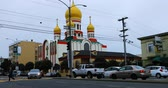 russo : Holy Virgin Cathedral, Russian Orthodox church in San Francisco 4K