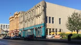 classic architecture : Historic downtown Galveston Texas. These buildings survived great storms including one in 1900 4K
