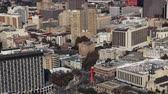 Aerial timelapse view of San Antonio 4K