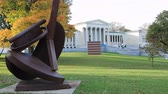 galeria : Timelapse of the Albright-Knox Art Gallery, Buffalo, New York 4K