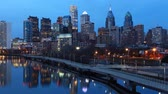 franklin : Cinemagraph, Looped, Night Timelapse Philadelphia