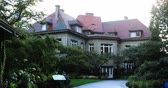 데 : View of Pittock Mansion in Portland, Oregon 4K 무비클립