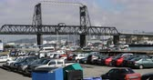 vodních : View of Port Bridge in Tacoma, Washington 4K Dostupné videozáznamy