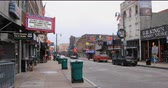 memphis : View of historic Beale St. in Memphis, Tennessee 4K Stock Footage