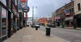 boates : View of historic Beale St. in Memphis, TN 4K