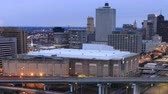 apartamentos : Night to day timelapse of Memphis, Tennessee downtown 4K