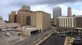 apartamentos : Timelapse of the Memphis, Tennessee city center 4K Stock Footage