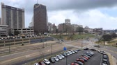 apartamentos : Timelapse of the Memphis, Tennessee downtown 4K
