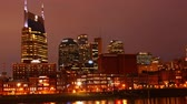 semt : Day to night timelapse of Nashville, Tennessee cityscape 4K