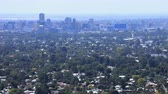데 : Timelapse of the Adelaide, Australia skyline 4K 무비클립