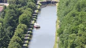 waterway : Marne-Rhine canal in Alsace, France
