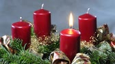 adventskranz : 1.Advent einen Adventskranz