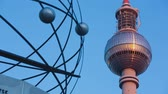 clock : Berlin Sunrise Detail TV Tower universe clock
